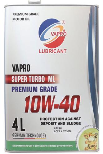 vapro威保金属罐系列10W-40矿物油va