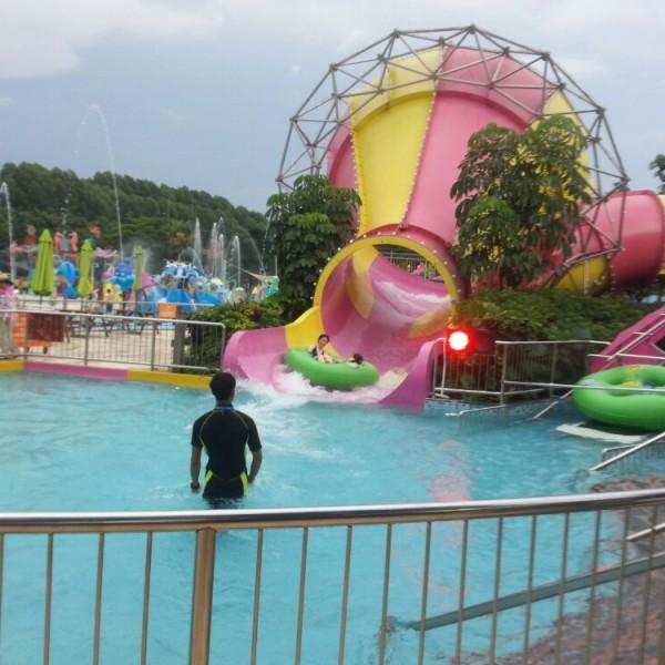 小喇叭滑梯  儿童大型水上乐园设备公司