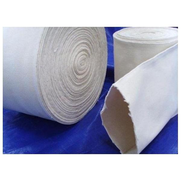 压褶棉布管,全棉帆布筒,耐高温帆布套