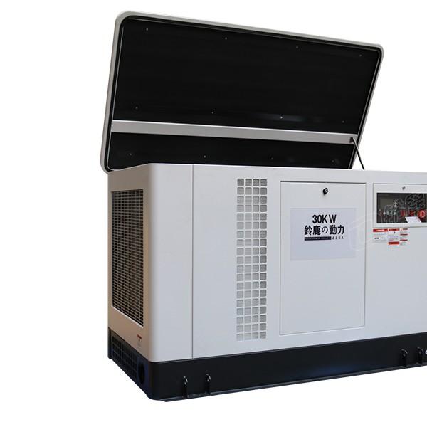 全自动30KW静音汽油发电机