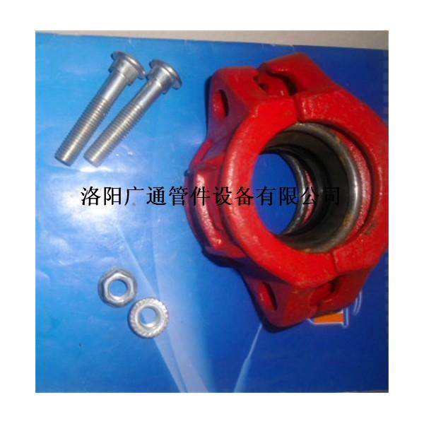 广通KRJKRHS型卡箍式柔性管接头伸缩器接头特点