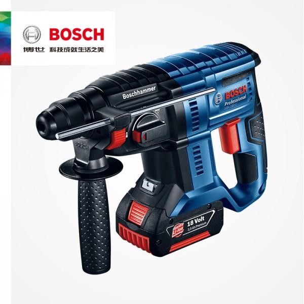 陕西博世BOSCH多功能锂电充电电锤钻GBH180-LI