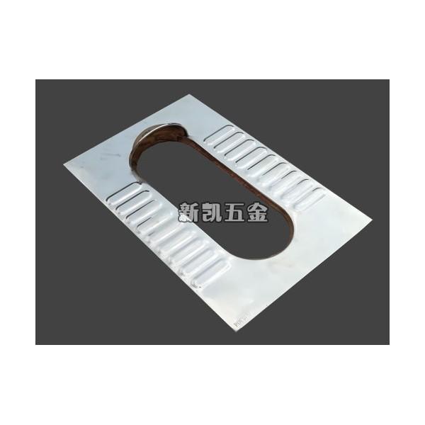 304不锈钢光板蹲便器 不易走形