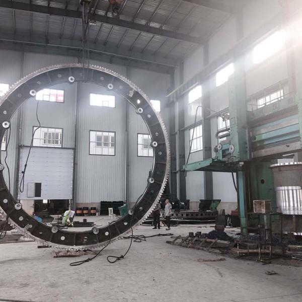 供应各种规格球磨机用18-40模数大齿轮烘干机大齿圈