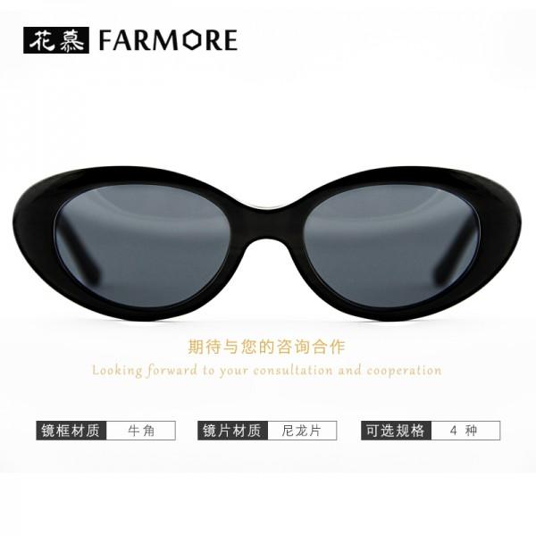 欧美流行复古手工牛角眼镜 可配近视镜 防蓝光眼镜