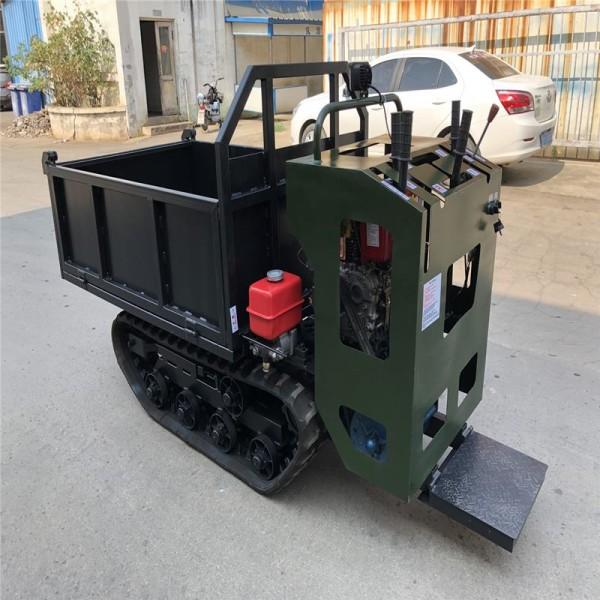 供应全新小型履带车多用途全地形车1T手扶履带车