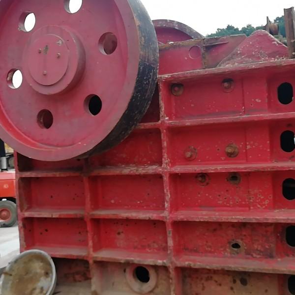 二手砂石料生产线二手颚式破碎机制砂机低价处理