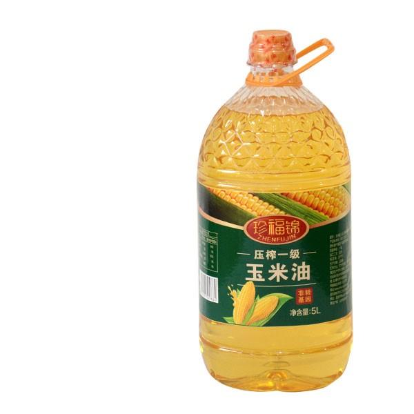 珍福锦玉米油 非转基因玉米胚芽油 山东孙鹏商贸