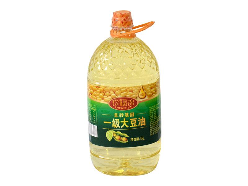 珍福锦大豆油 非转基因大豆油 山东