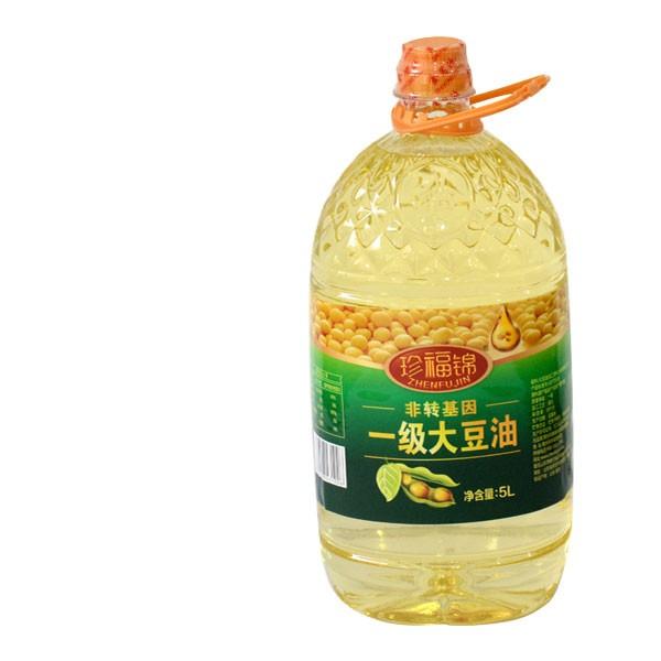 珍福锦大豆油 非转基因大豆油 山东孙鹏商贸