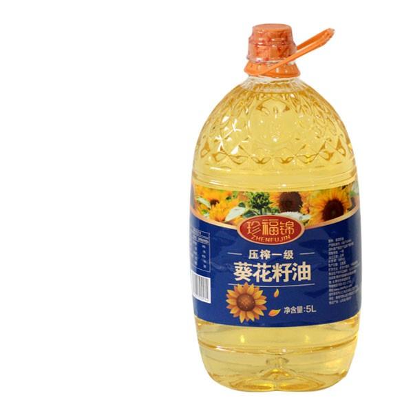 珍福锦葵花籽油 一级葵花籽油 山东孙鹏商贸