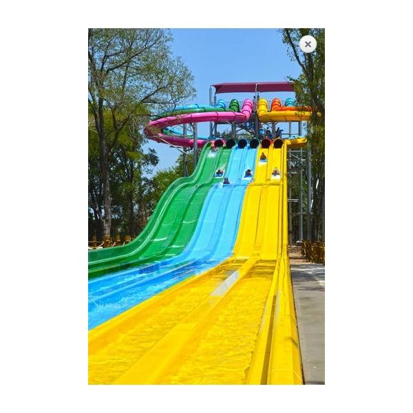 疾驰竞赛滑梯  山东水上乐园设备定制