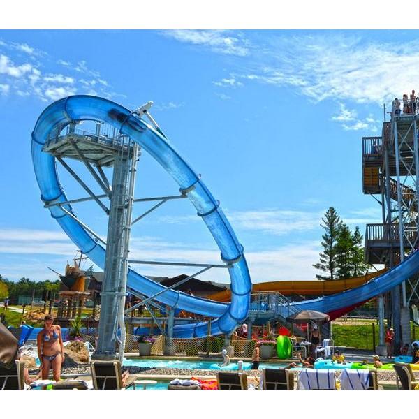 大回环水上滑梯  海口水上乐园设备定制