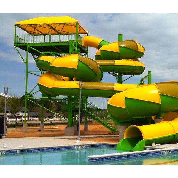 游蛇滑梯  天津水上乐园设备生产厂家