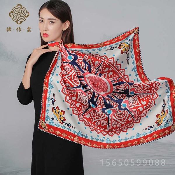 丝巾围巾定制批发