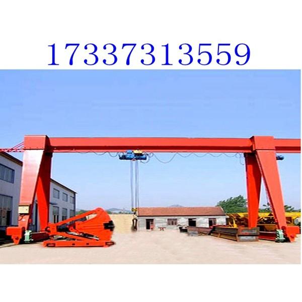河北唐山10吨门式行吊厂家欢迎到访