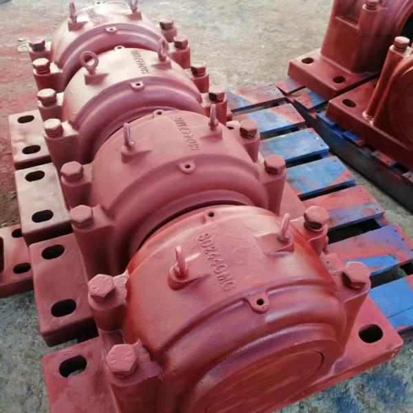 代加工轴承座厂家,四螺柱剖分式轴承座SD230