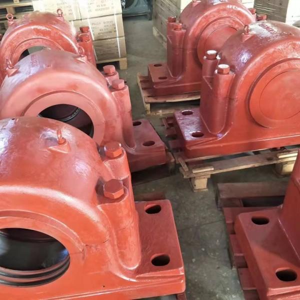 烟台轴承座厂家,重型剖分式轴承座SD556