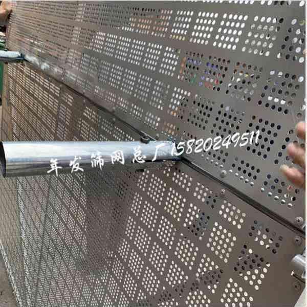 建筑工地爬架网 高层施工防坠外墙金属板网防护1.2*1.8m