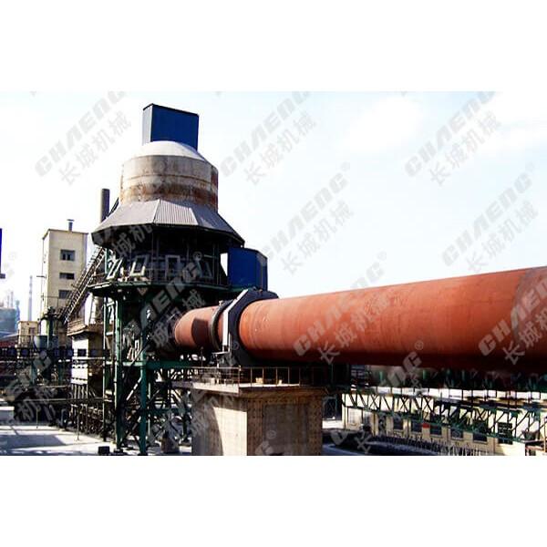 石灰生产线 新乡长城日产300吨活性石灰生产线厂家