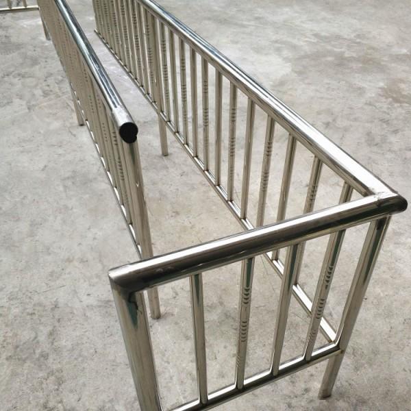 销售重庆不锈钢栏杆护栏防盗栏雨棚 商场楼道栏杆