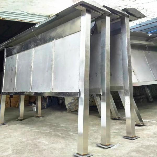 重庆钣金加工 宣传栏栏杆机械设备部件外壳 商场不锈钢装饰立牌