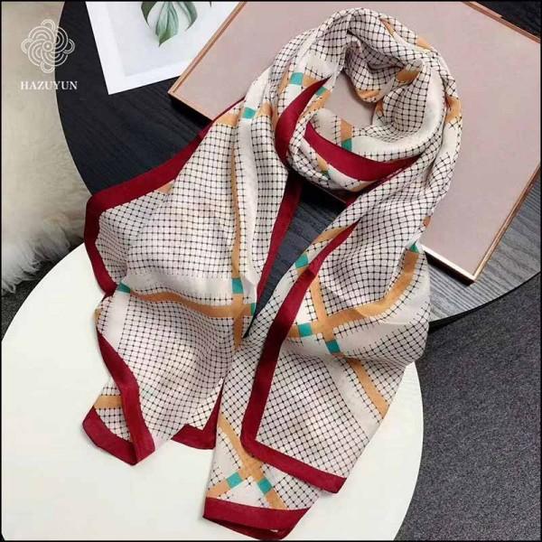 山东国蕴春季新款丝巾团购