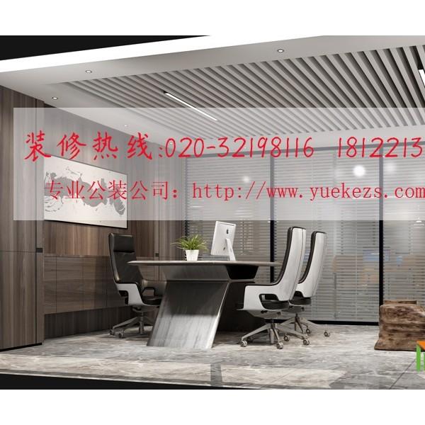 广州装饰设计公司丨佛山科技厂房办公室装修设计案例