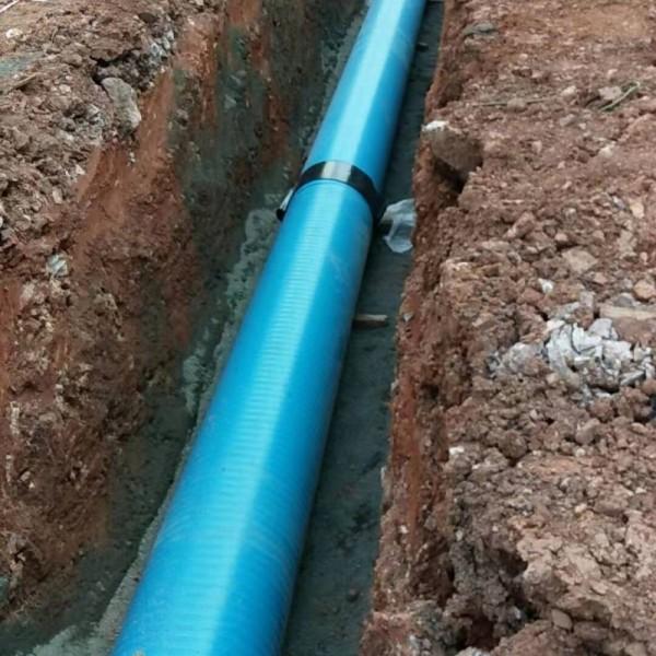 供应中山佛山珠海深圳江门东莞广州HDPE三层壁增强复合管
