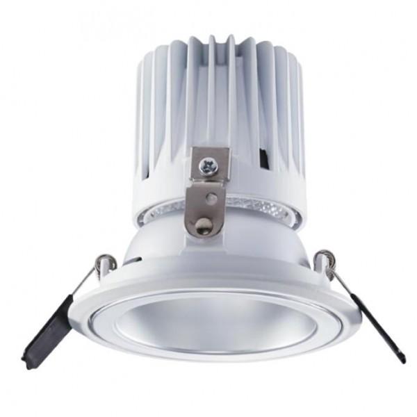 欧普照明灵清II深藏LED嵌入式射灯7W10W天花灯牛眼灯