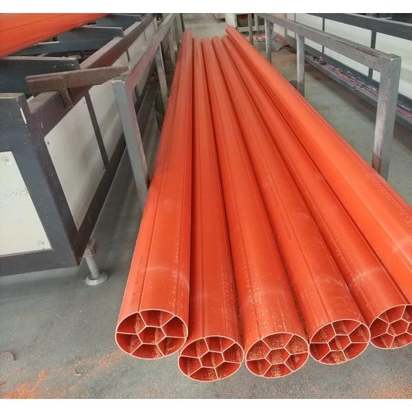 PVC圆七孔管,PVC圆七孔电力管