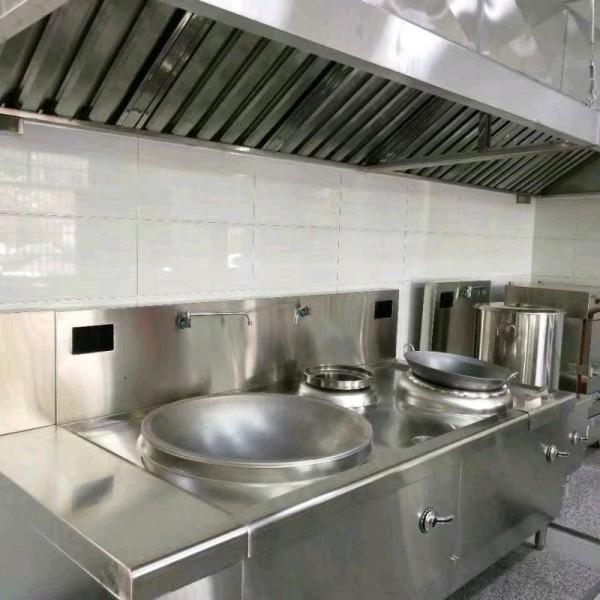 长沙酒店厨房设备油烟罩排烟管道制作安装酒店排烟罩排烟管道通