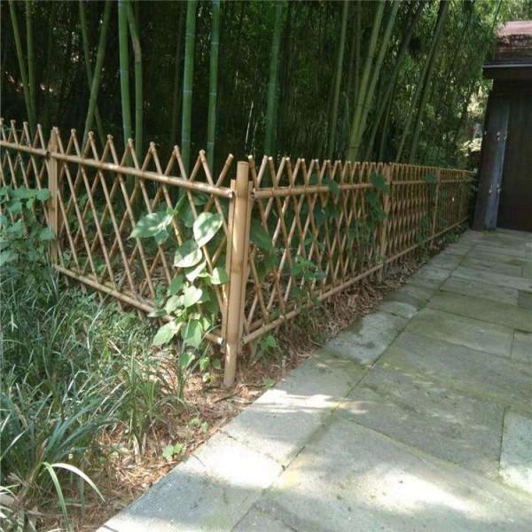 竹子护栏花园围栏不锈钢竹子护栏别墅围栏