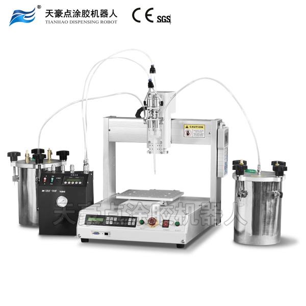 宁波点胶机气压式双液点涂胶机器人,灌胶机注胶机封装机