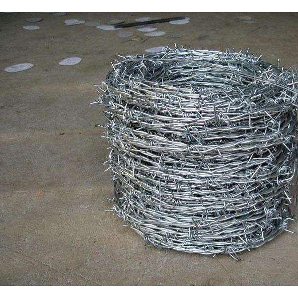 锌铝合金刺铁丝刺铁丝铁蒺藜热镀锌钢丝