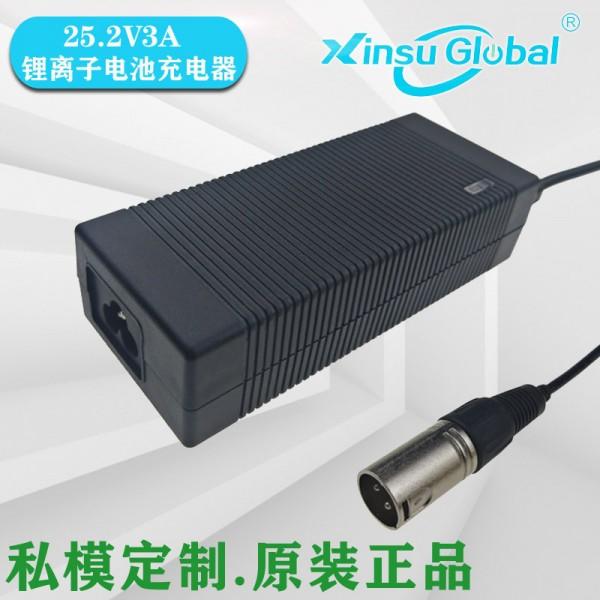 25.2V3A充电器欧盟ErP能效Eu2019/1782标准