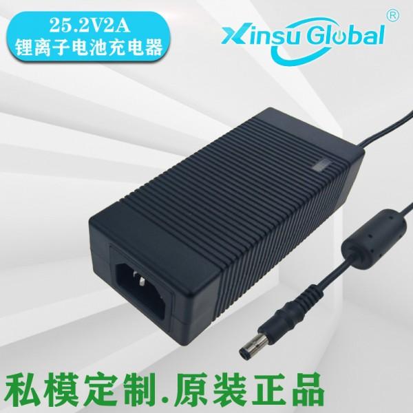 25.2V2A充电器符合ErP能效Eu2019/1782标准
