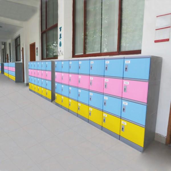 好柜子牌全新ABS塑料书包柜中小学彩色ABS书包柜厂家批发