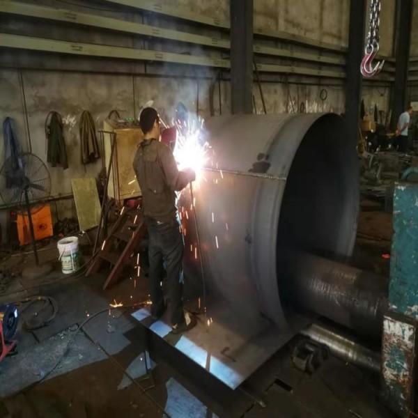 定制厚壁港口码头用防腐钢护筒 重庆专业钢板卷管焊接厂家