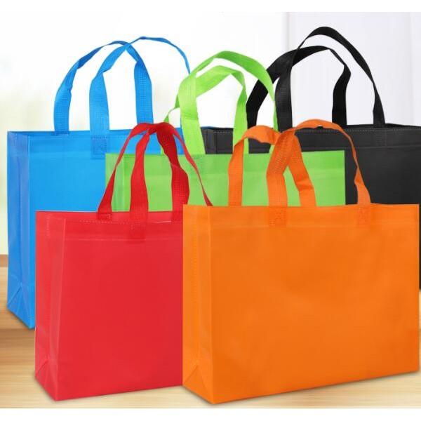 无纺布折叠袋 覆膜服装手提袋 折叠购物袋 环保手提袋