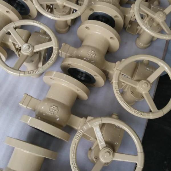 手动V型调节阀-v型法兰对夹球阀现货批发零售