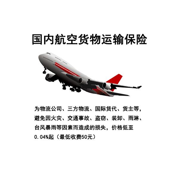 国内航空运输保险 国内空运 货运险 空运险