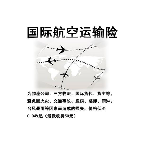 国际空运保险 飞机运输保险 国际运输 货运险