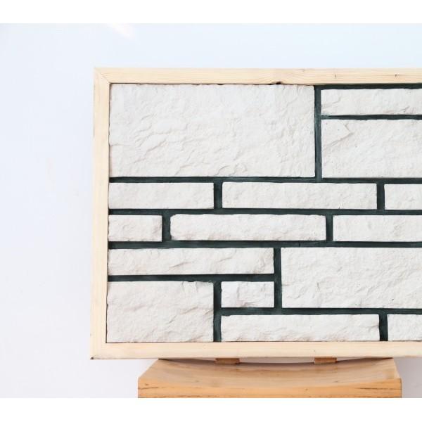 别墅小区背景墙装修 东森厂家直销定制各种文化砖