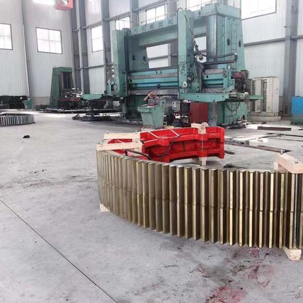 定制各类矿山机械设备备件齿圈1-8米直径 齿圈定做加工