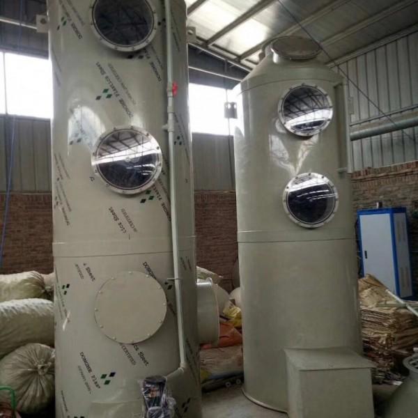 水喷淋塔废气净化处理设备制造商厂家湫鸿环保