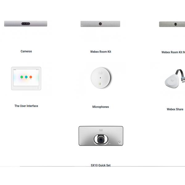 Cisco webex share设备终端