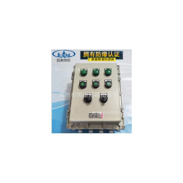 防爆控制箱BXK-A3D3K2合金粉尘防爆控制箱