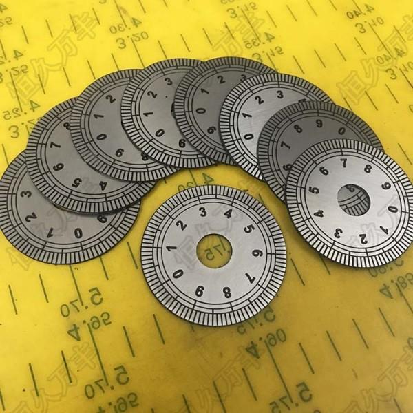 刻度盘不锈钢尺铜镇尺测量尺水位尺分度盘角度盘定制专用链接
