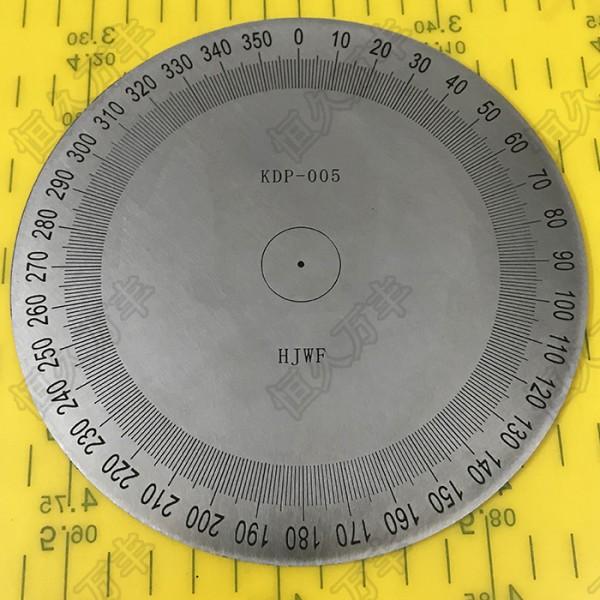 精准刻度盘无孔刻度盘手轮圆形分度标识盘直销